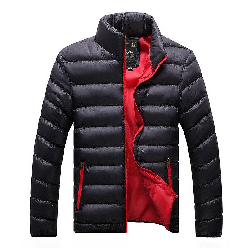 2020 Novos Casacos De Inverno Dos Homens Casual Outwear Blusão Jaqueta Masculino Sólido Fino Ajuste Com Capuz Moda Casacos Homme