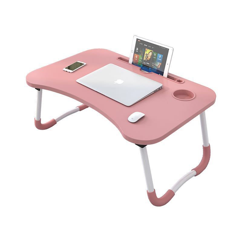 Hot sale wooden foldable computer folding laptop desk table for beds and sofa