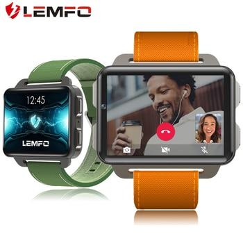 LEMFO lem4pro Android Smart Watch Phone 1GB 16GB 1200 Mah Battery 130W Camera GPS WiFi SIM Card MP4 3G Smartwatch
