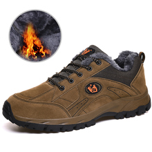 Hiking Shoes Trail-Boots Men Sneakers Suede Hunting Sports Winter Women Travel New Anti-Slippery