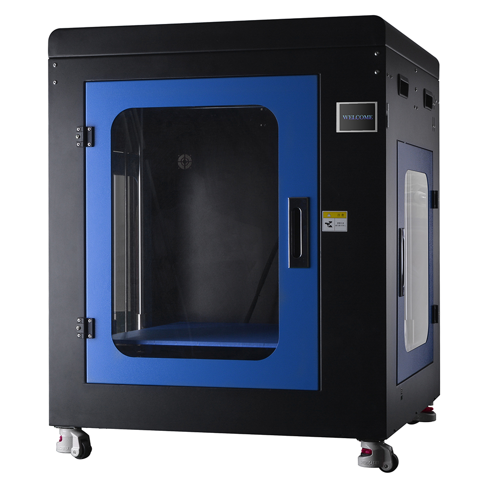 HUAFAST HS-500 <font><b>3D</b></font> <font><b>Printer</b></font> Large Plus Printing Size 500x500x500mm high Precision FDM Desktop Metal Acrylic Frame <font><b>3d</b></font> printing image