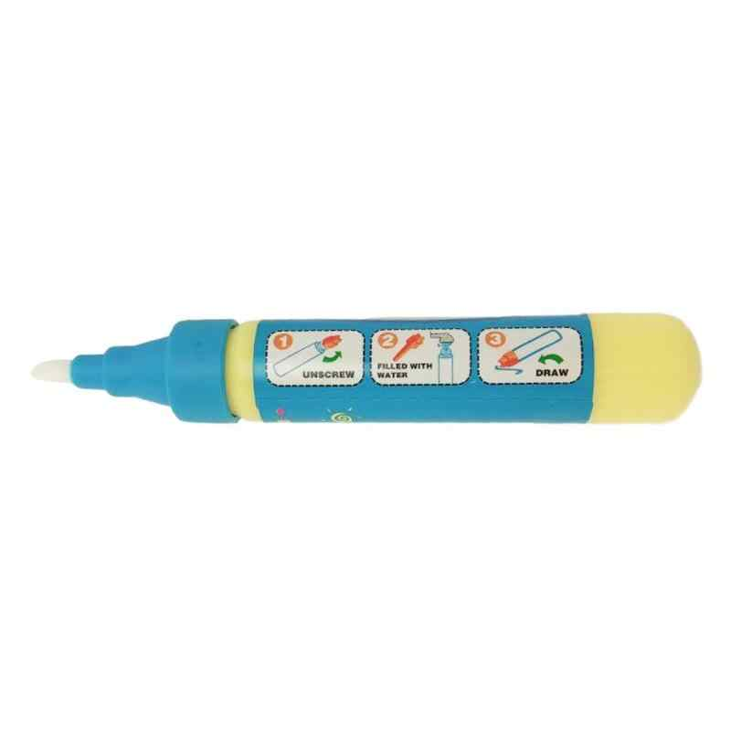 1Pc Sihir Menggambar Pena Air Dapat Digunakan Kembali Air Brush Lukisan Pena Kaligrafi Mainan Anak-anak Tidak Beracun Air Jernih Kain Lukisan pena Mainan