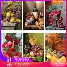 ZOOYA 5D DIY алмазная живопись фрукты натюрморт полная дрель Алмазная вышивка мозаика распродажа подарок декор картины Стразы RF1863