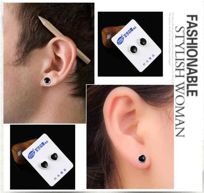 No Piercing Magnetico Della Vite Prigioniera Earing Per Le Donne Uomini Rotonda Rombo Star Cuore Quattro-foglia di trifoglio Croce Ear Studs Dimagrante prodotto