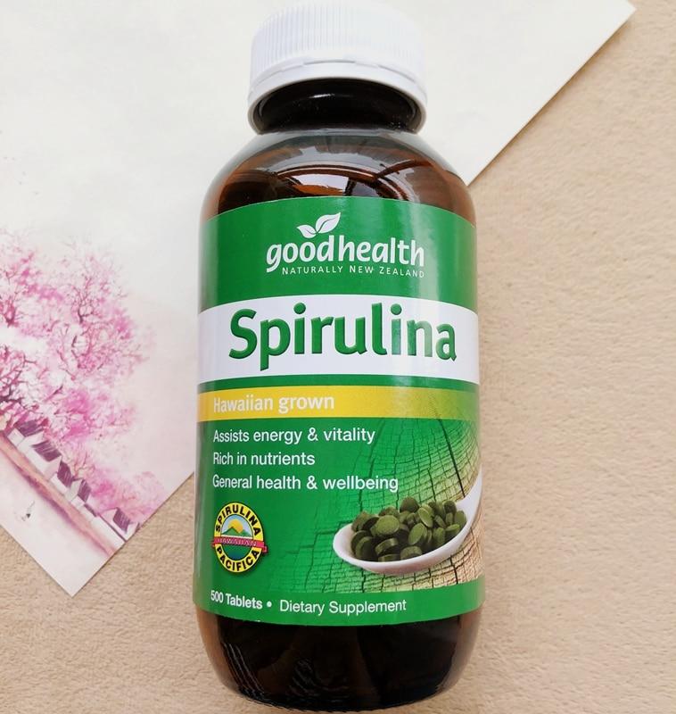 Good Health Spirulina 500mg 500 Tablets - Hawaiian grown (1)