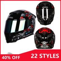 FOR yamaha mt 09 honda dio af18 suzuki sv650 kawasaki z800 Motorcycle full face helmet casco motocross helmet moto accessories