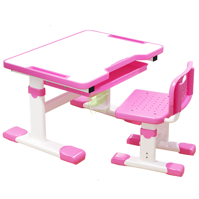 Lifting Child Study Table Student Desk Home Writing Desk And Chair Set Combination Child Writing Homework Desk