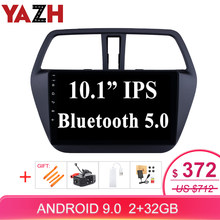 "YAZH Android 9.0 Pie 10.1 ""IPS Auto Radio Speler Voor Suzuki S-Cross SX4 2014 2015 2016 2017 met SWC/OBD/Carplay/Mirror Link(China)"
