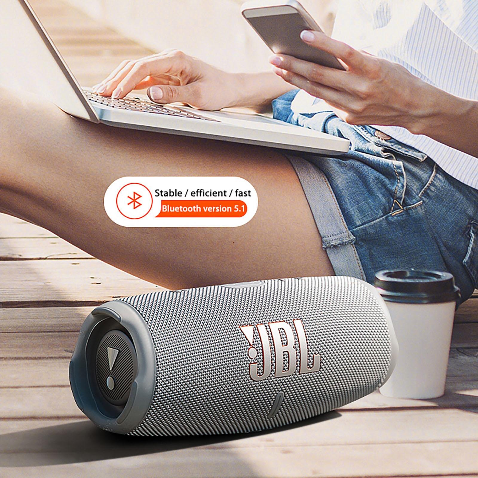 Charge 5 Wireless Bluetooth 5.1 Portable IP67 Waterproof Speaker Portable Speakers Boombox 2 Music Hifi Bass Sound Box Flip