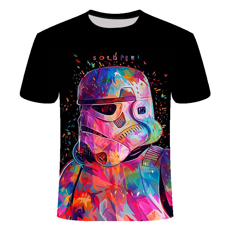 Star War The Rise Of Skywalker 3D Print Summer T-shirts Women/Men Casual Clothes Tops Hot Sale Slim Cool Short Sleeves T-shirts