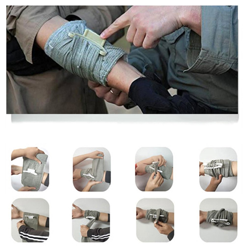 First Aid Wound Hemostatic Bandage Israel Bandage Force First Aid Training Bandage Outdoor First Aid Bandage Emergency Bandage
