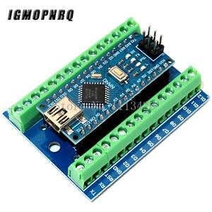NANO V3.0 3.0 Controller Terminal Adapter Expansion Board NANO IO Shield Simple Extension Plate For Arduino AVR ATMEGA328P(China)