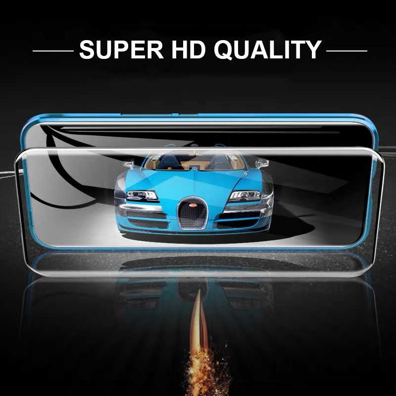 Redmi K30 5G / 4G Magnetic Case 360 Front+Back double-sided 9H Tempered Glass Case for Xiaomi Redmi K30 Pro Metal Bumper Case