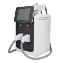 Portable 3 in 1 OPT SHR IPL hair removal machine RF radio frequency /picosecond pico laser tattoo pigment remove equipment