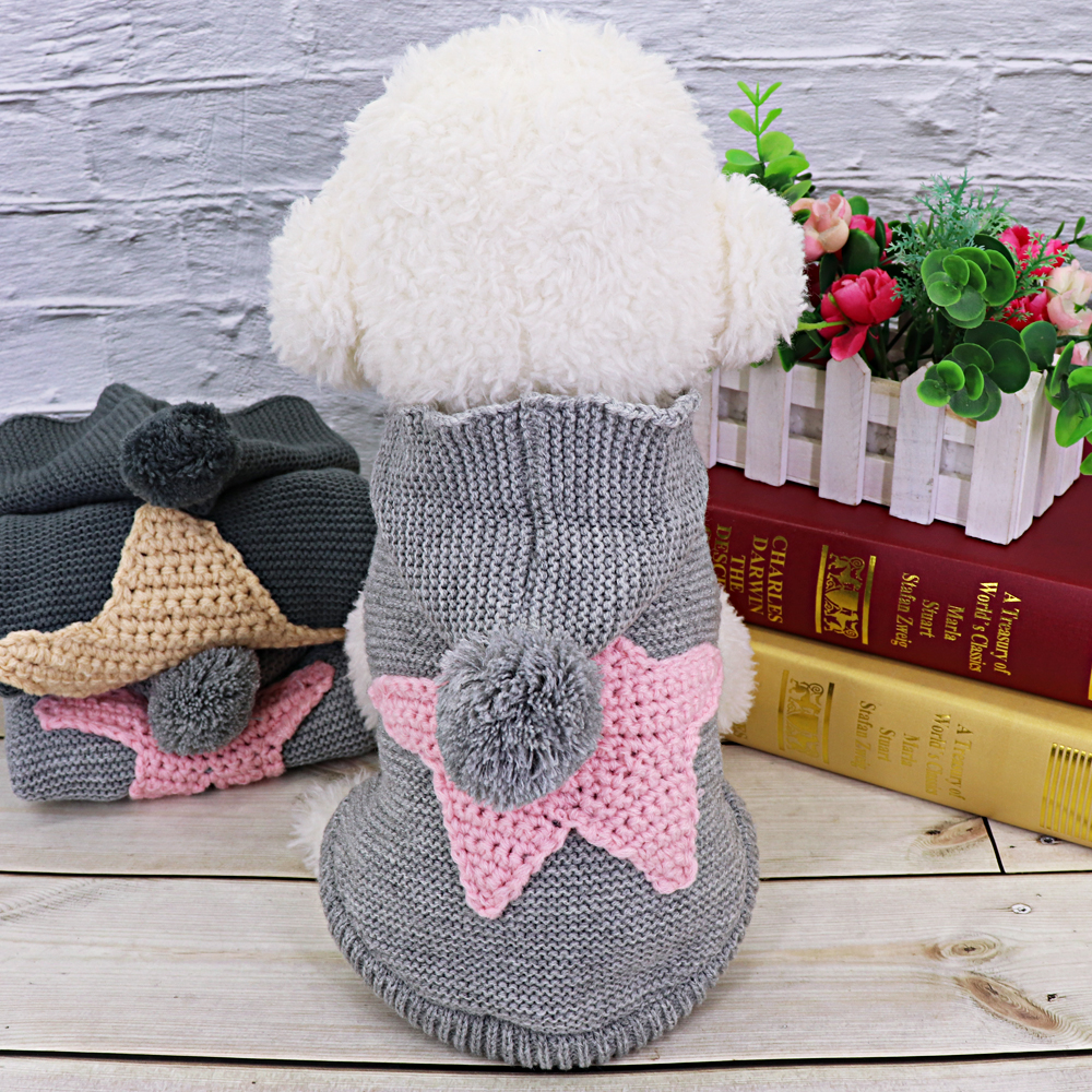 Warm Pet Cat Clothes Winter Cat Dog Coat Jacket Pet Puppy Sweater Hoodies For Small Medium Dogs Cats Chihuahua Yorkies Clothes 7