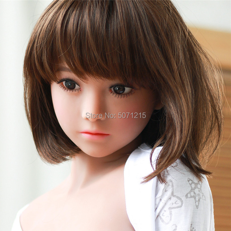 <font><b>Sex</b></font> <font><b>Doll</b></font> Head Oral <font><b>Sex</b></font> Love <font><b>doll</b></font> tpe Lovely Face With Bobs Wig for <font><b>136cm</b></font> to 176cm Adult Size Body image