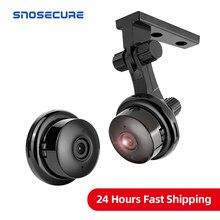 SNOSECURE sans fil 1080P IP caméra HD deux voies Audio Vision nocturne moniteur vidéo 360 degrés panoramique sécurité à domicile WIFI caméra