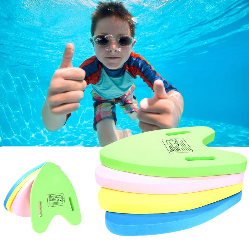 Children's Swimming Training A-shaped Floating Board Lightweight Floating Plate Back Float Kickboard Pool Training Aid Tools