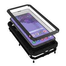 غطاء معدني لهاتف سانسونغ s21 بلس, غطاء هاتف معدني لسامسونج S21 Plus حافظة متينة للاستخدامات الشاقة لحماية الهاتف لهاتف سانسونج جالاكسي s21 غطاء مقاوم للصدمات