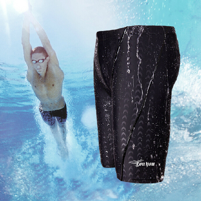 2018 New Style Woo Swimming Trunks Breathable Men Short-Style Comfortable Bathing Suit Tight Swimming Trunks Equipment