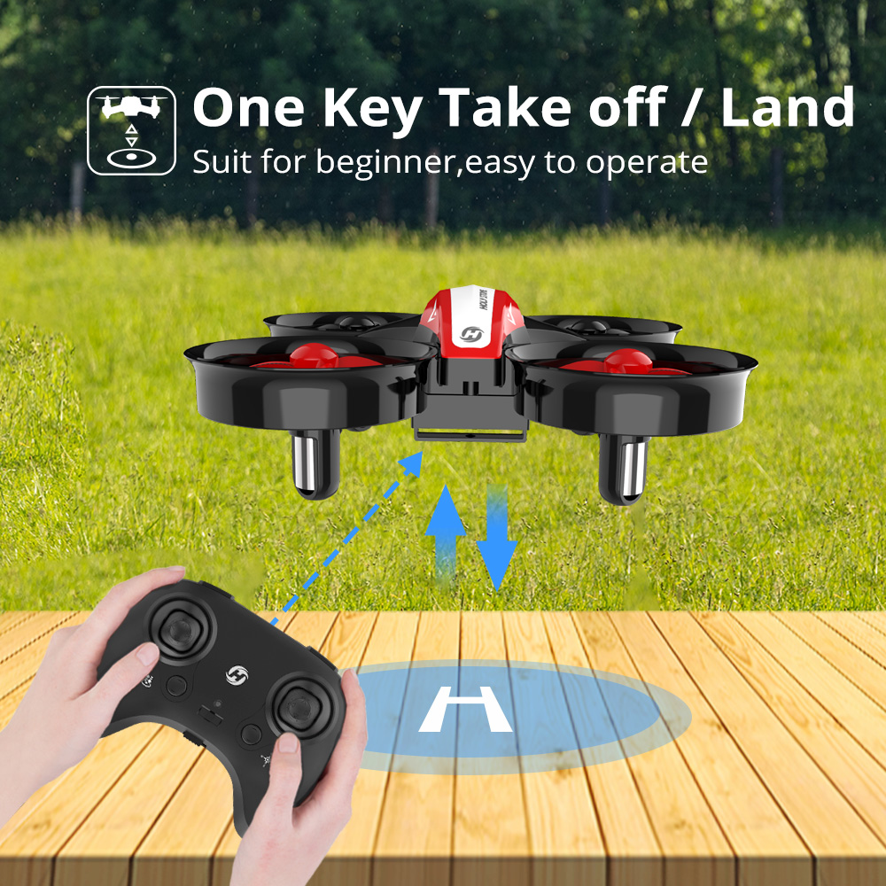 Image 3 - Holy Stone HS210 Mini RC Drone Toy Headless Drones Mini RC Quadrocopter Quadcopter Dron One Key Land Auto Hovering Helicopter-in RC Helicopters from Toys & Hobbies