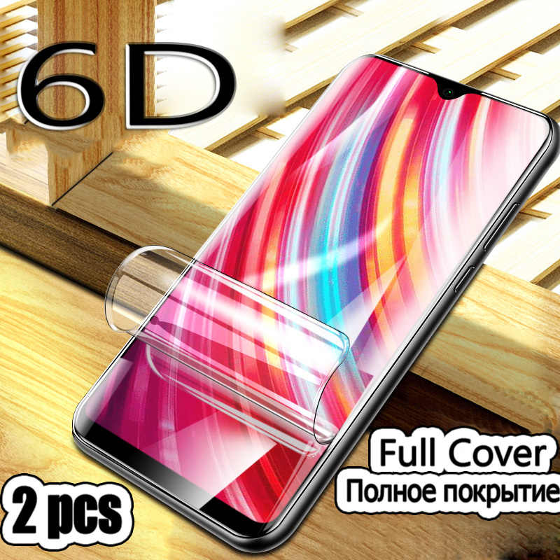 2Pcs Phone Screen Protector For Xiaomi Redmi Note 7 8 5A K20 Pro Protective Hydrogel Film For Xiaomi Redmi 6A 7A K20 Not Glass