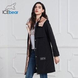 ICEbear 2020 nuevo abrigo para mujer Chaqueta larga de mujer Abrigos de calidad para mujer moda Casual ropa de marca mujer ropa GWC20727I