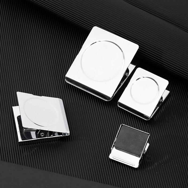 Прочный металлический квадратный магнитный зажим разных размеров для длительного использования