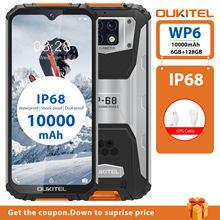OUKITEL WP6 6G RAM 128G ROM 10000mAh Batterie 6.3