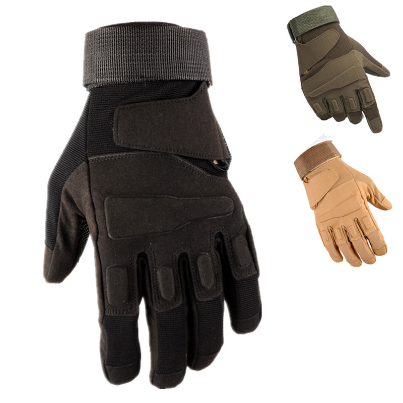 Hot Sale Men's Tactical Gloves Military Army Fingerless Hand Glove Bicycle Mittens Fitness Weights Motorcycle Driving Gym Gloves