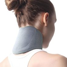 Ceinture de cou en Tourmaline, 1 pièce, collier auto-chauffant, enveloppe de thérapie magnétique, protège les soins de santé, ceinture de massage pour le cou