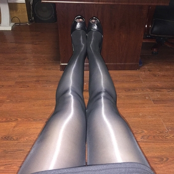 ultra-thin sexy 8D oily shine look pantyhose