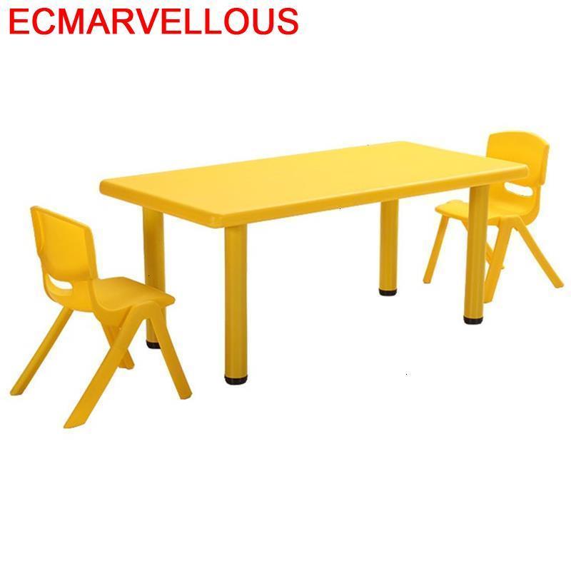 And Chair Infantiles Play Mesa Y Silla Infantil Avec Chaise Kindergarten Study For Kids Bureau Kinder Enfant Children Table