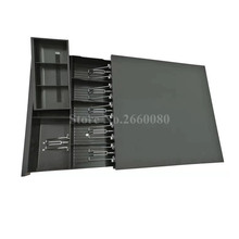 Кассовый ящик POS кассовый ящик пять сеток три секции кассового ящика с RJ11 интерфейсом для супермаркета кассовый ящик