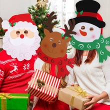 Santa Claus/Snowman/Reindeer Masks For Childrens And Adults Non-woven Christmas Party Celebrations Recreation