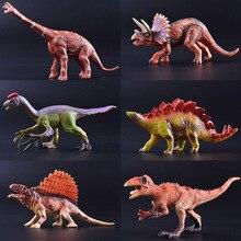 Toy Solid Dinosaur Model Simulation Tyrannosaurus-Boutique Small