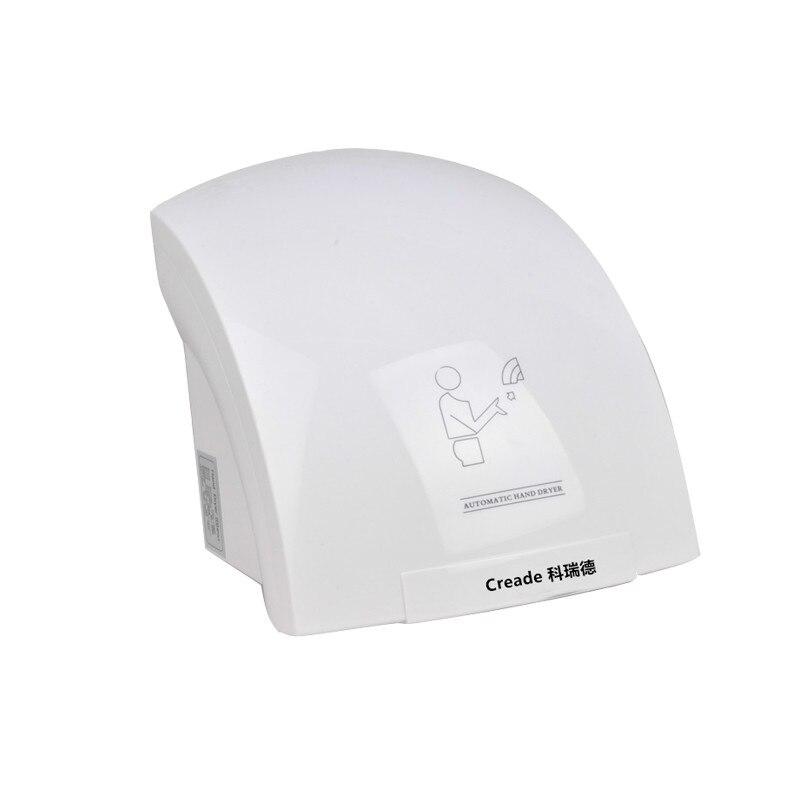 Inteligente Infravermelho de Detecção de Água Máquina De Sopro Secador de Mão Secador De Pequeno Vento Quente e Fria Wc De Poupança De Energia Fácil de Instalar