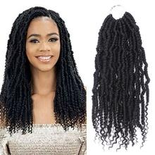 Black Star 14Inch 24 Strands/pack Bomb Twist crochet hair Braiding
