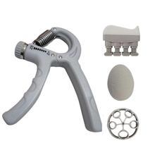 Рукоятка усилитель предплечья рукоятка тренировочный комплект Регулируемый ручной захват палец тренажер фитнес оборудование