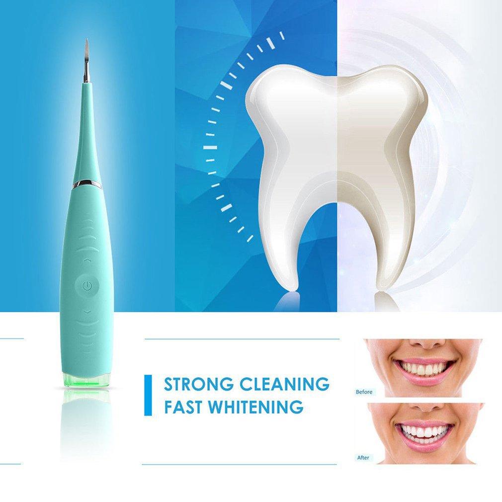 Бытовая чистка зубов, зубной камень, пятновыводитель, портативный Электрический Очиститель зубов 4