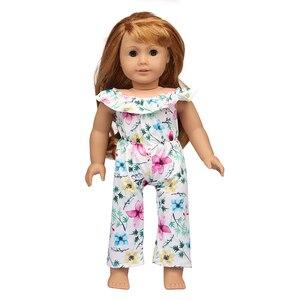 18 дюймов американская Кукла Одежда Новое поступление комбинезон костюм для 43 см Bebe Reborn куклы для нашего поколения игрушки лучший подарок, д...
