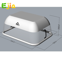 6*4m Pool Cover 7*5*3m size Pool Transparent Air Air Inflatable Swimming Pool Dome Cover For Summer Winnter