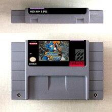 Mega Mann & BASS   RPG Game Card US Version Englisch Sprache Batterie Sparen