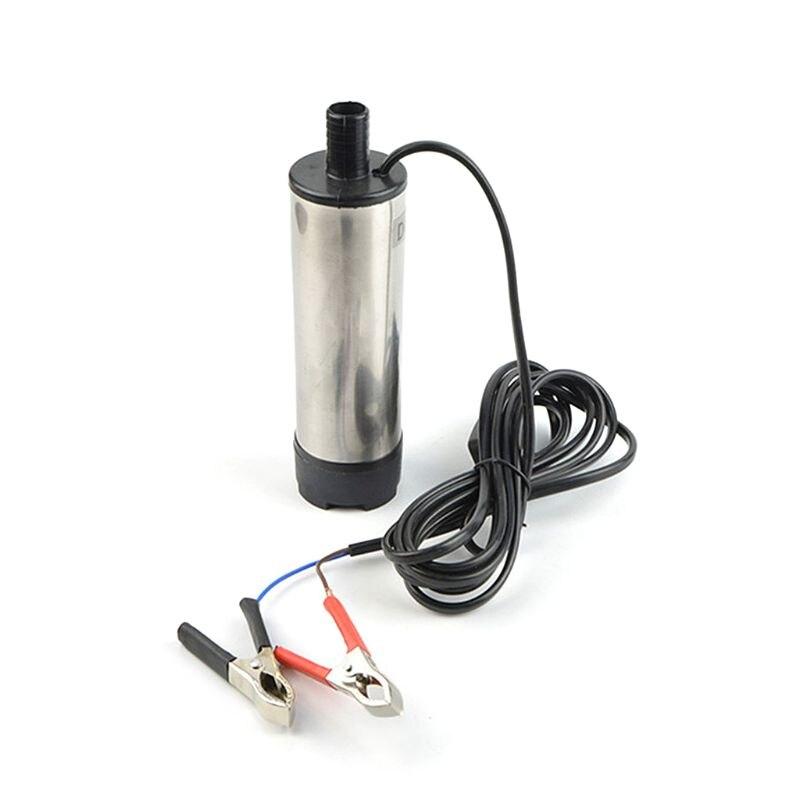 Электрический погружной насос 51 мм 12 В постоянного тока дизельное масло водяного откачки экстрактор всасывания передачи инструмент домашнего сельского хозяйства промышленности