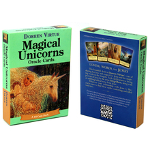 Doreen Virtue Magical Unicorn Oracle Cards A 44 Cards Deck Receive Messages and Guidance Related to your Present Life Beginners