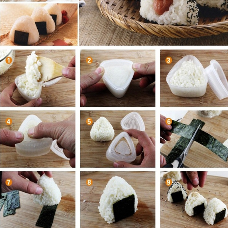 Mould Sushi-Maker Rolling-Mats Meat-Vegetables-Machine Rice Bamboo Kitchen Practical-Tools title=