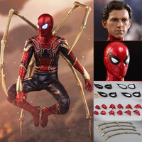 NEW Movie Avengers Infinity War HC Iron Spider PVC Action Figure Collectible Model Toy 30cm