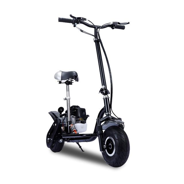 Foldable Gas Gasoline Scooters 2-Stroke 4-Stroke Fuel Power Mini Pedal Scooter Motor Dirt Bike Mini motorcycle 2