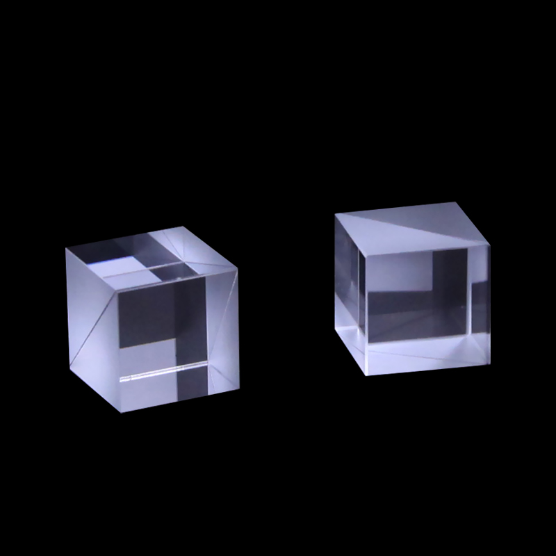 50*50*50mm Beam Splitter Prism N-BK7 Optical Glass Cube Dichroic Dispersion Splitting Ratio 50:50 optical instrument