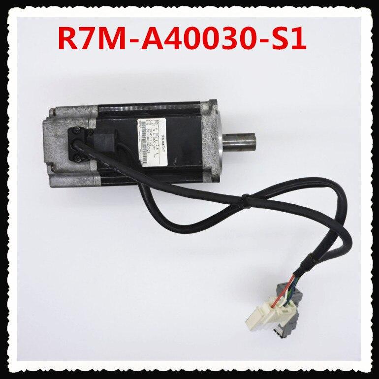 Используется 100% протестированный R7M A40030 S1 OMRON R7M A40030 S1 серводвигатель переменного тока R7M A40030 S1